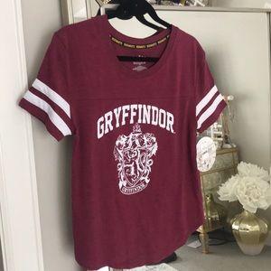 Harry Potter Gryffindor tee L